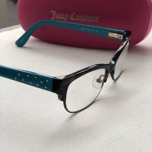 Juicy Couture Eyeglasses - Havana Green/Tortoise